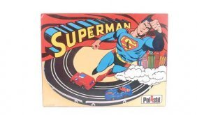 Polistil Superman DN 781 Electric Slot Car Set