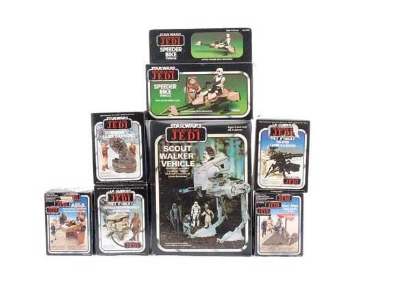1194: Palitoy/Kenner Star Wars Vintage Vehicles