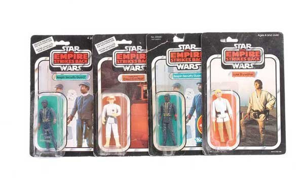 "1205: Palitoy General Mills Star Wars 3 1/2"" Figures"