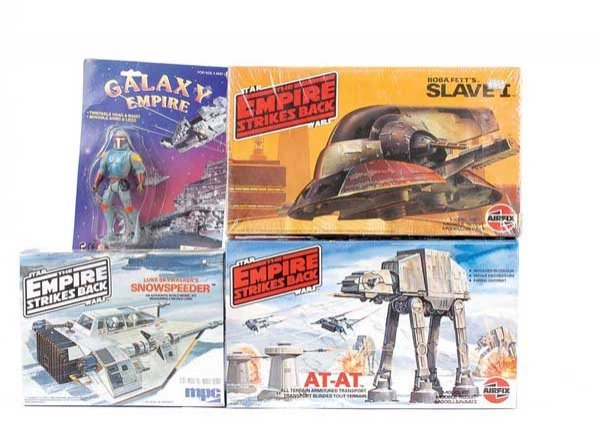 1211: Star Wars Airfix, MPC and Galaxy Empire Toys