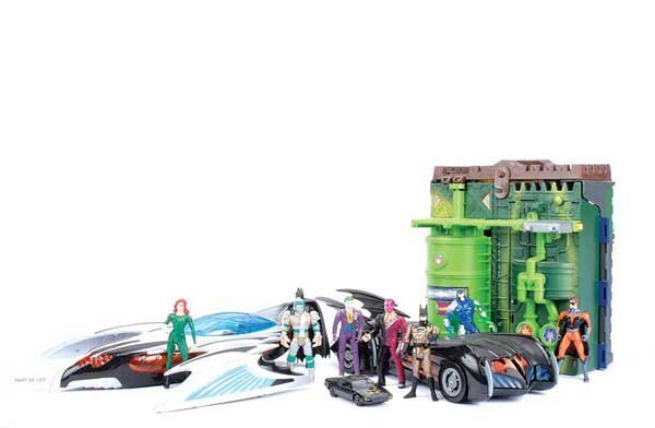 1212: Batman and Robin Hasbro/Kenner and Tomy Figures