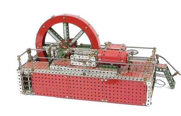 "4004: Meccano ""Bromo"" Steam Engine"