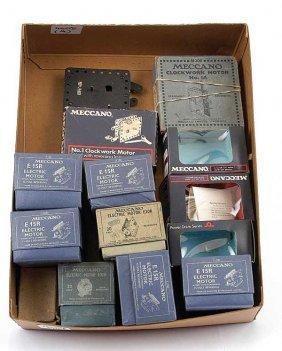 4008: Meccano Clockwork/Electric Motors