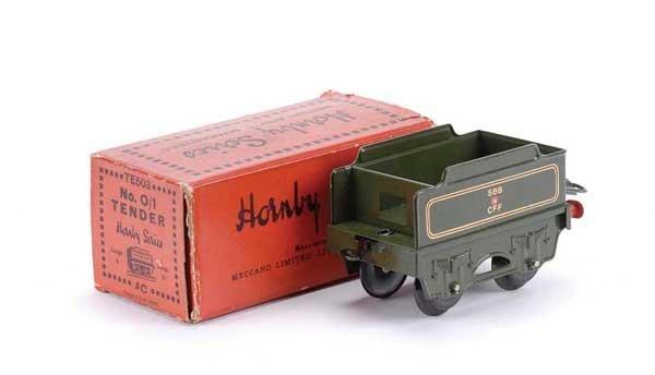 """4590: Hornby Export No.0/1 """"SBB/CFF"""" Tender"""