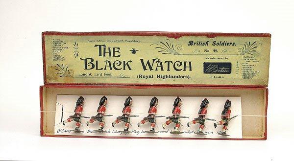 1: Britains Set 11  The Black Watch-1893 version -