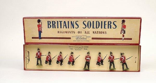 3: Britains Set 17-The Somerset Light Inf Post-war