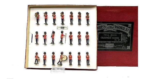 6: Britains Set 37-Band-Coldstream Gds-1934 version