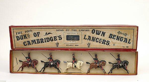 7: Britains Set 46-10th Bengal Lancers-1896 version