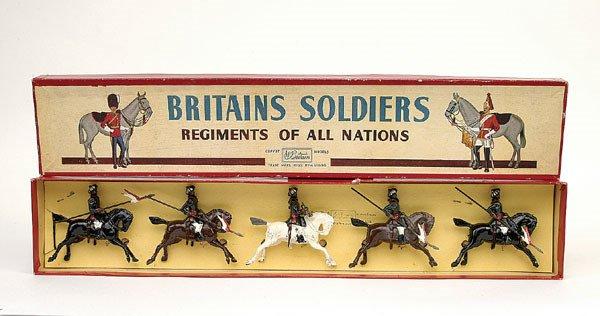 8: Britains Set 66-Duke of Connaughts Lancers-1950 v