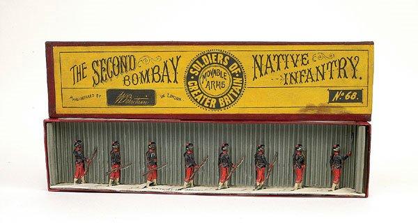 10: Britains Set 68-Bombay Native Inf-1896 version