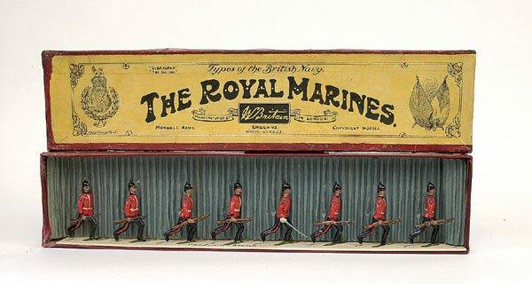 13: Britains Set 97 - Royal Marines - 1908 version