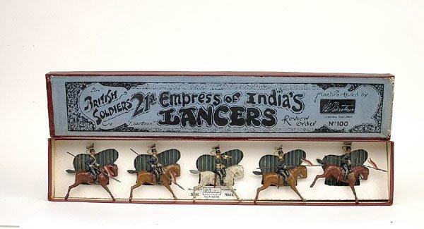 15: Britains Set 100 - 21st Lancers - 1898 version
