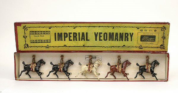 16: Britains Set 105-Imperial Yeomanry-1900 version