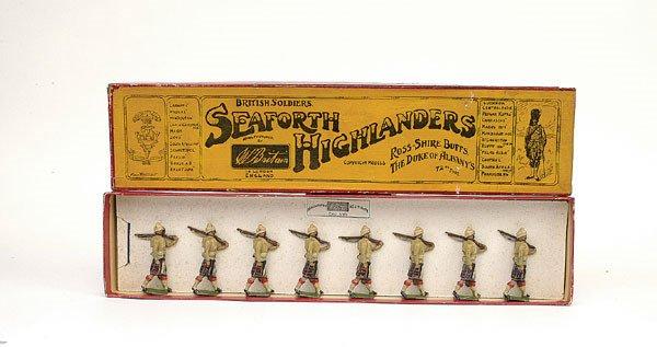 18: Britains Set112-Seaforth Highlanders-1901 version