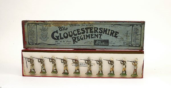 20: Britains-from Set 119-The Gloucestershire Regt