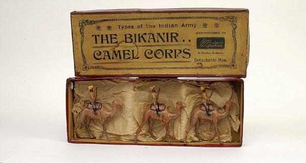 22: Britains Set123-Bikanir Camel Corps-1901 version