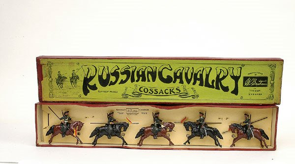 24: Britains Set 136 -Cossacks - 1925 version