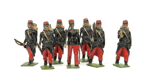 735: Britains - Paris Office - French Infantry