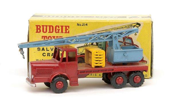 1001: Budgie No.214 Salvage Crane