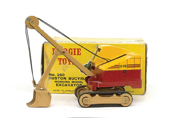 1004: Budgie No.260 Ruston Bucyrus Working Excavator