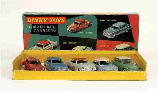 1810: French Dinky No.24-58 Gift Set Tourisme