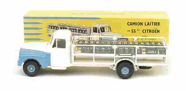 1951: French Dinky No.586 Citroen 55 Milk Truck