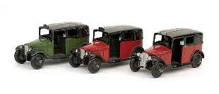 Dinky A group of No.36G Taxi
