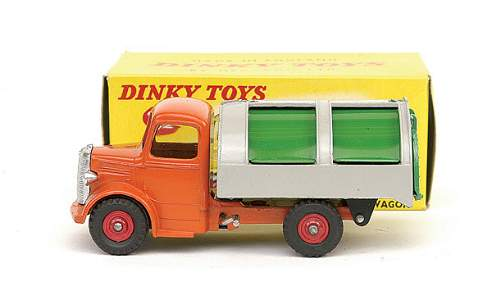 2876: Dinky No.252 Refuse Wagon