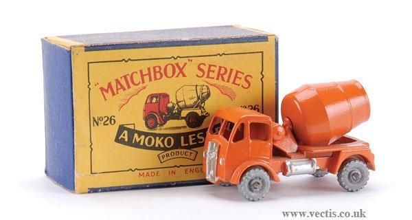 1: Matchbox No.26a-2 ERF Cement Mixer