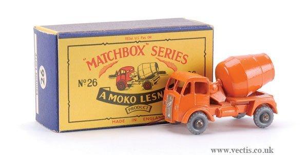 4: Matchbox No.26a-6 ERF Cement Mixer