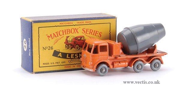 6: Matchbox No.26b-1 Foden Cement Mixer