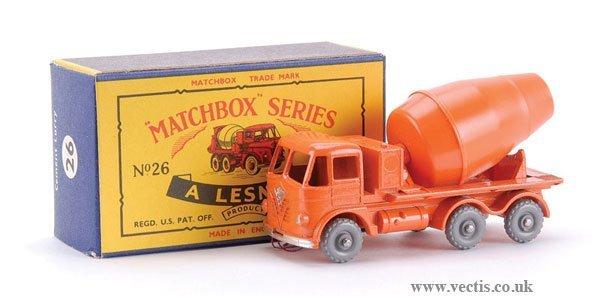7: Matchbox No.26b-3 Foden Cement Mixer