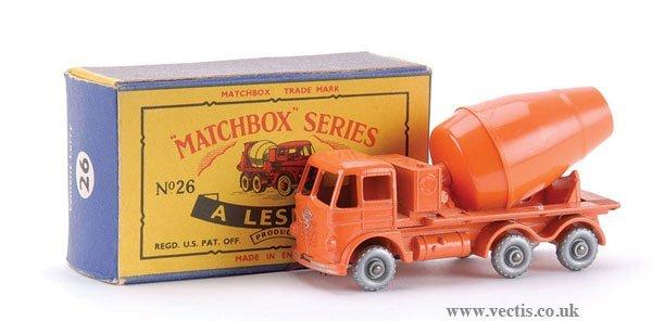 9: Matchbox No.26b-6 Foden Cement Mixer