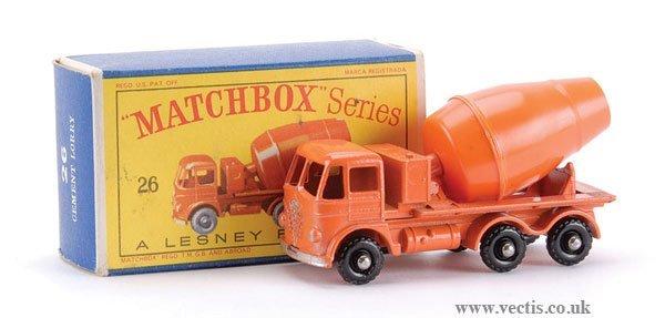10: Matchbox No.26b-9 Foden Cement Mixer