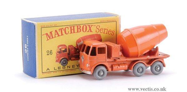 11: Matchbox No.26b-12 Foden Cement Mixer