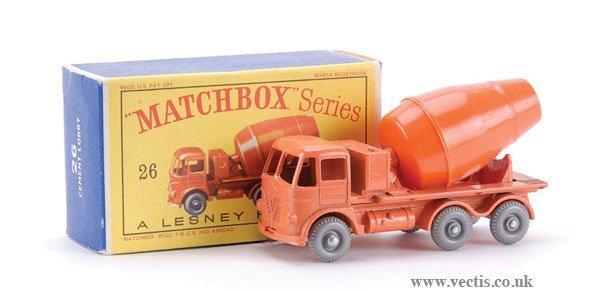 12: Matchbox No.26b-13 Foden Cement Mixer
