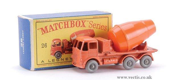 13: Matchbox No.26b-14 Foden Cement Mixer