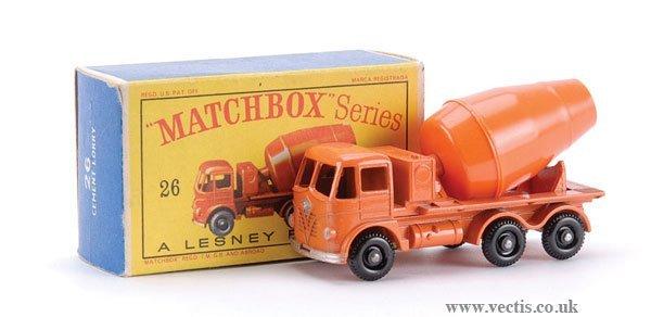 14: Matchbox No.26b-15 Foden Cement Mixer