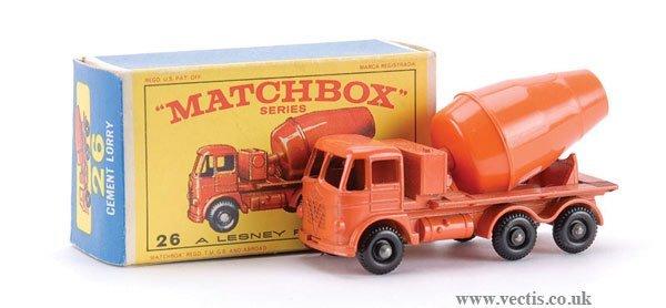 15: Matchbox No.26b-16 Foden Cement Mixer
