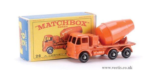 16: Matchbox No.26b-17 Foden Cement Mixer