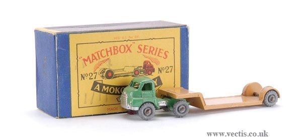 20: Matchbox No.27a-4 Bedford Articulated Low Loader