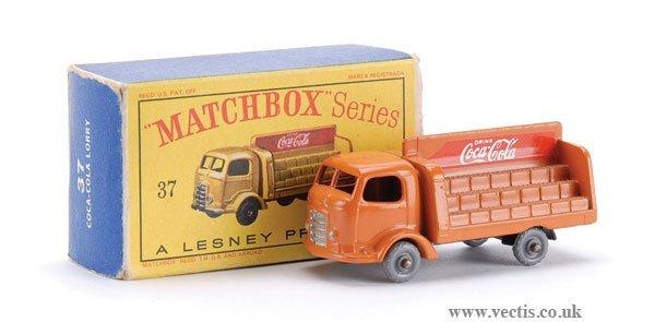 """235: Matchbox No.37b-4 Karrier Bantam """"Coca Cola"""""""