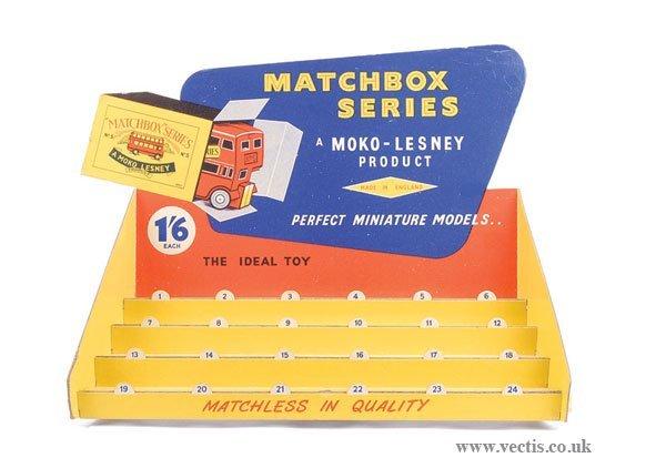 648: Matchbox Counter Card Display Stand