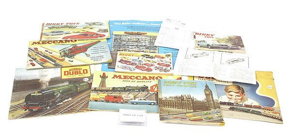 1004: Dinky & Meccano Catalogues and Leaflets