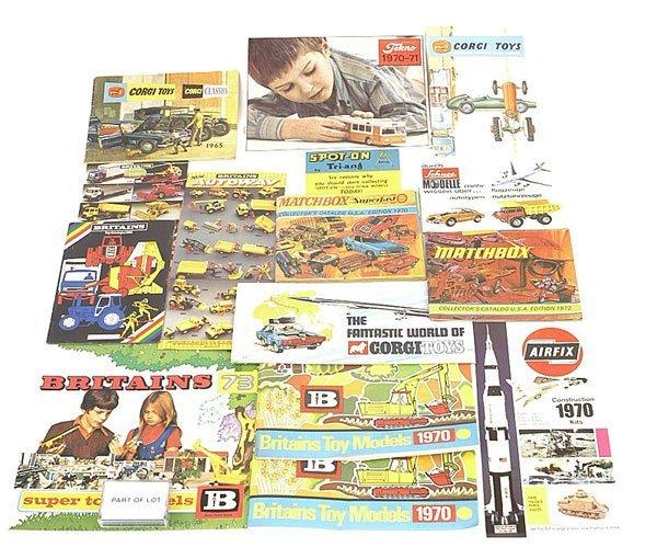 1005: Corgi, Matchbox, Airfix, Britains Catalogues