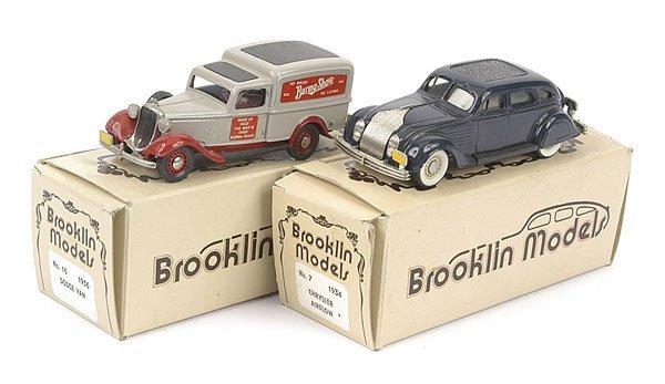 1006: Brooklin Models - A Pair of Vehicles