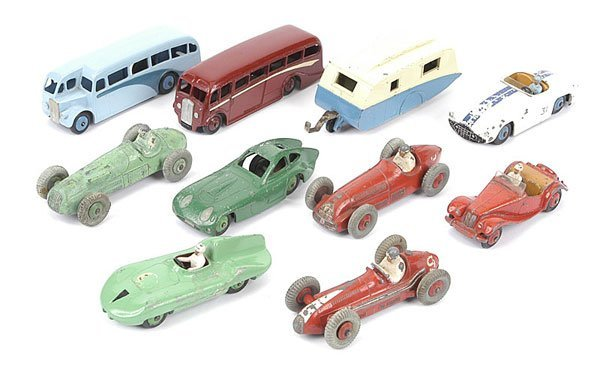 1007: Dinky Toys - A Group of Unboxed