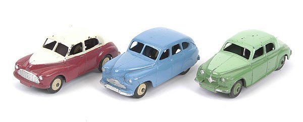 1008: Dinky Toys - A Group of Unboxed