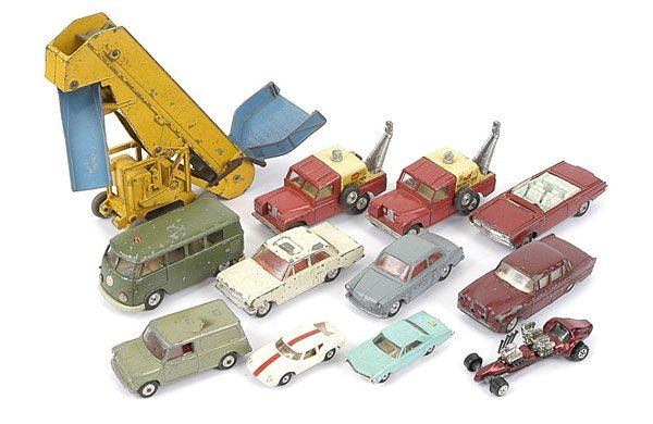 1013: Dinky/Corgi/Gama/Aurora - A Group of Unboxed