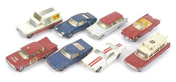 1016: Corgi Toys - Unboxed Cars and Commercials
